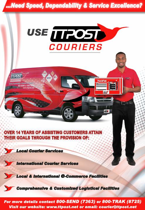 TTPOST Courier Services - Local and International Couriers