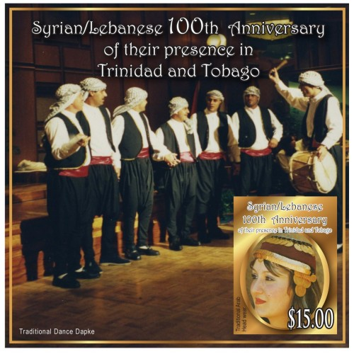 Syrian/Lebanese 100th Anniversary of their presence in Trinidad and Tobago
