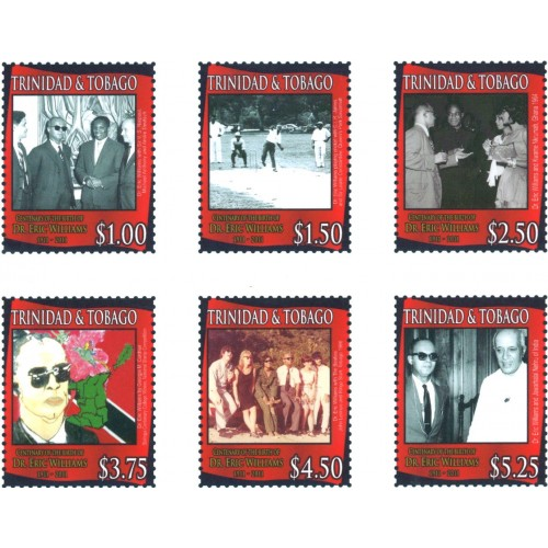 Century of the birth of Dr. Eric Williams 1911-2011